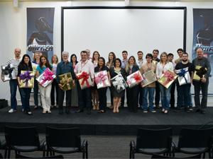 Os colaboradores da WK Sistemas com 5,10,15,20,25 e 30 anos de empresa receberam uma homenagem dia 6 de dezembro.