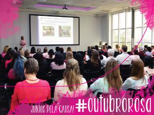 """""""O que desafia, te transforma."""" Com esse tema a Rede Feminina de Combate ao Câncer (RFCC) de Blumenau realiza a sua campanha Outubro Rosa de 2017."""