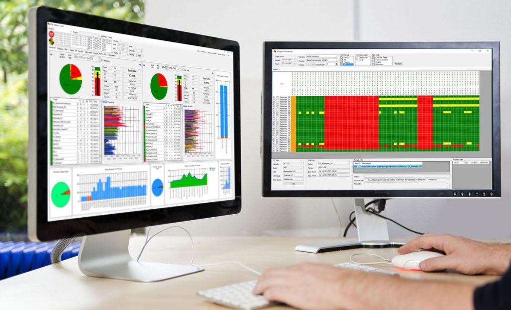 WK Sistemas desenvolve setor avançado de automação e agiliza o processo de teste dos softwares