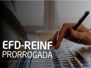 A Instrução Normativa RFB nº 1.842 com alteração nos grupos e data de entrega e o novo cronograma da EFD-REINF foi publicado em 31 de outubro de 2018.