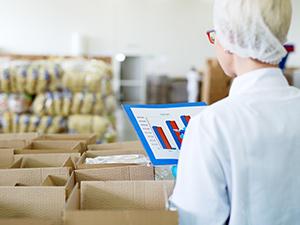 Conrole de estoque na indústria de alimentos